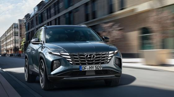 Neues Design, neue Technik – die neuen Modelle des Hyundai TUCSON sind ab Ende 2020 erhältlich.