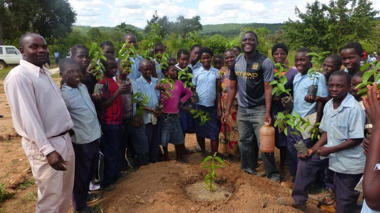 Um klimaneutral zu werden, unterstützt Cyril von Recum mit der EULER GROUP ein ökologisches und soziales Projekt in Südafrika.